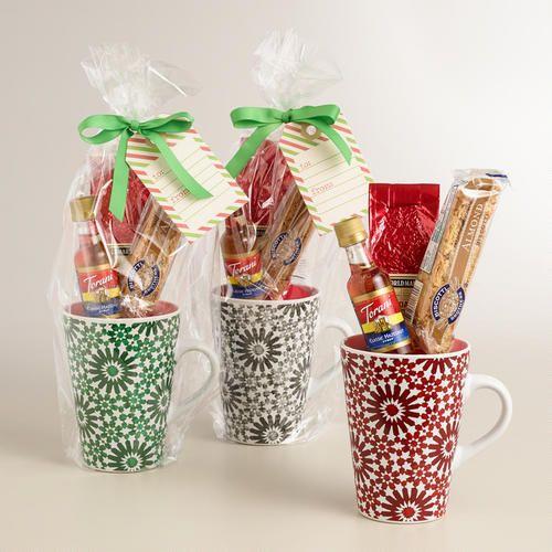 Christmas Mug Gift Ideas  World Market Holiday Blend Coffee Mug Gift Set