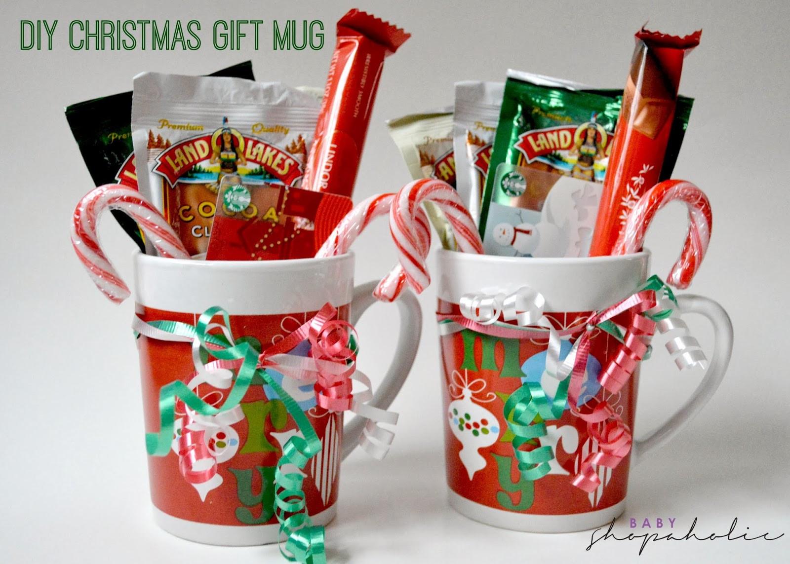 Christmas Mug Gift Ideas  Last Minute DIY Christmas Gift Baby Shopaholic