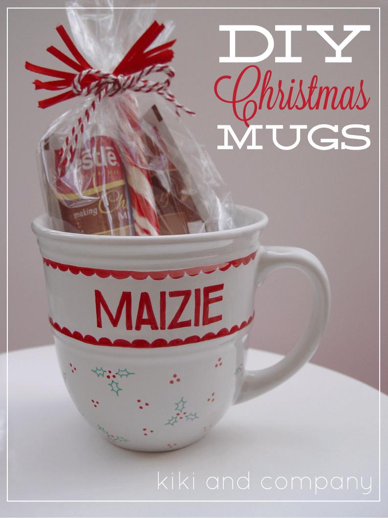 Christmas Mug Gift Ideas  101 inexpensive handmade Christmas ts I Heart Nap Time