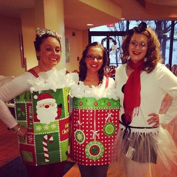 Christmas Party Costume Ideas  Homemade Christmas Costume Ideas