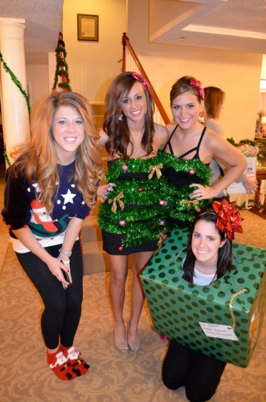 Christmas Party Costume Ideas  tacky christmas party costume ideas