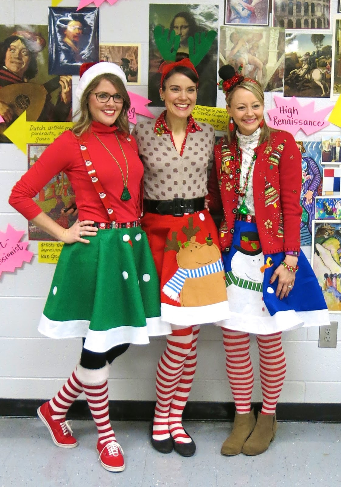 Christmas Party Costume Ideas  Cassie Stephens What the Art Teacher Wore 153