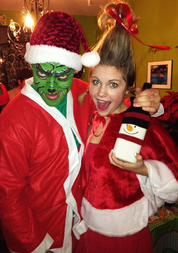 Christmas Party Costume Ideas  Beautiful Christmas Costume Ideas 35 Outfts