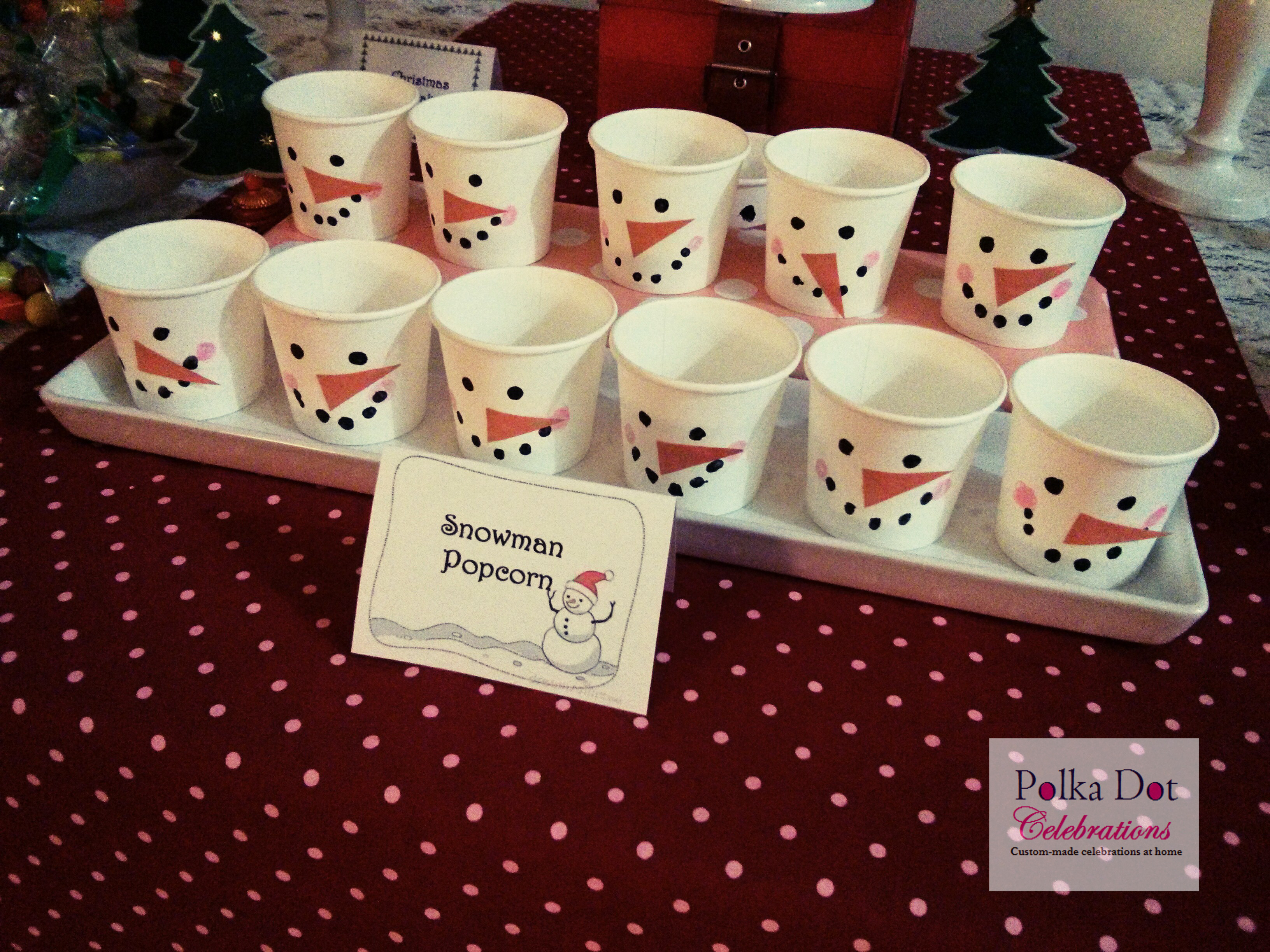 Christmas Party Ideas For Toddler  Christmas Party Ideas for Kids Party Polka Dot Celebrations