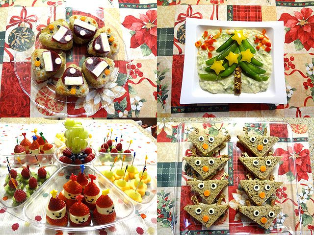 Christmas Party Ideas For Toddler  Christmas party food idea for kids