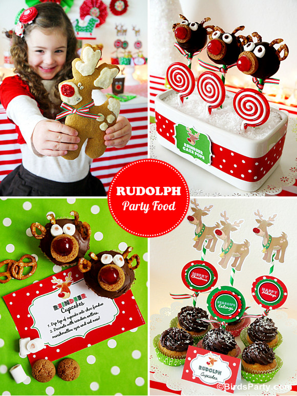 Christmas Party Ideas For Toddler  Rudolph Holiday Party