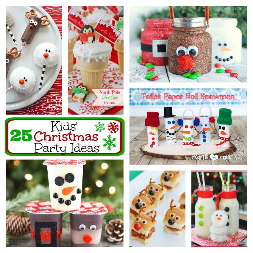 Christmas Party Ideas For Toddler  25 Kids Christmas Party Ideas – Fun Squared