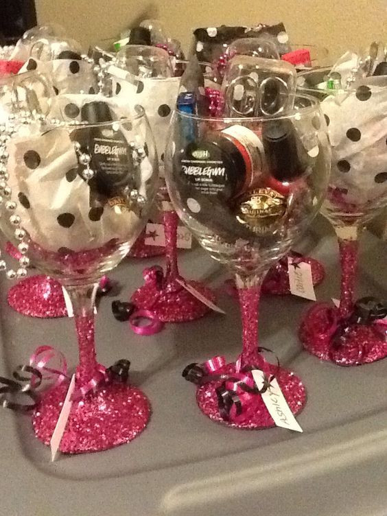 Christmas Party Themes Ideas For Adults  Wine Glass Favors