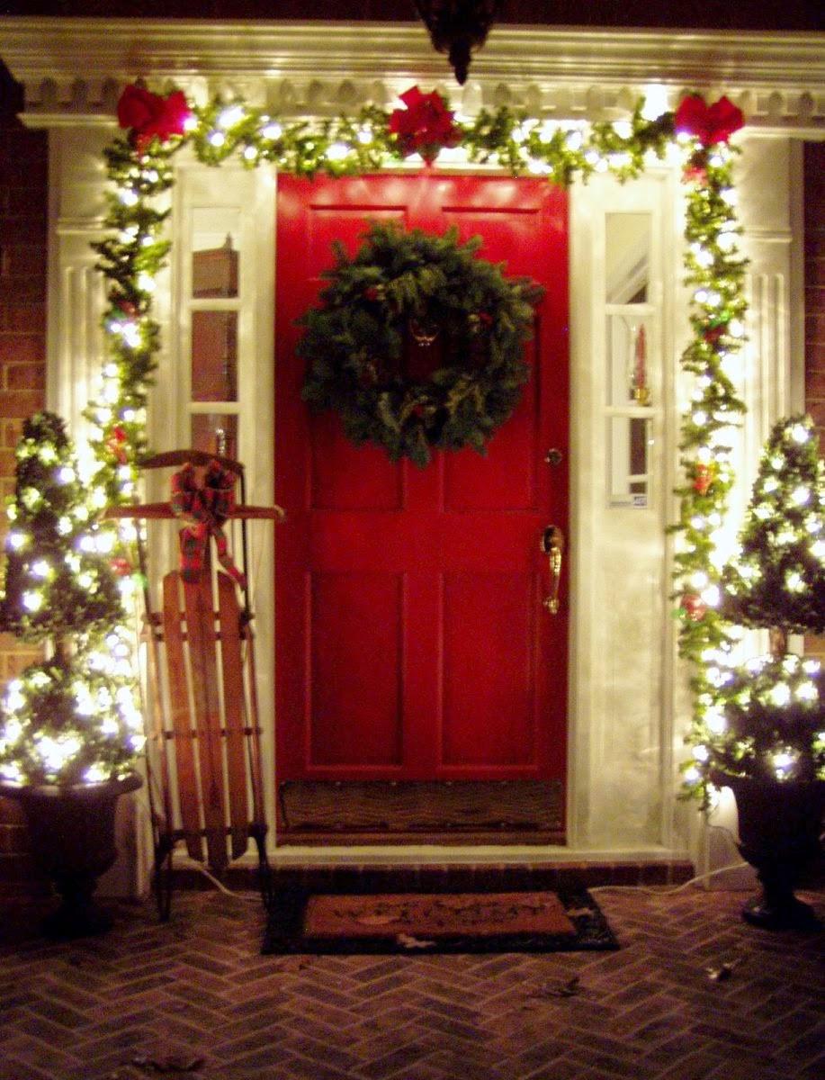 Christmas Porch Decor  30 Outdoor Christmas Decoration Ideas · Wow Decor