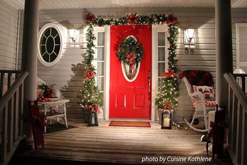 Christmas Porch Decor  Outdoor Fall Decorating Ideas for Your Front Porch and Beyond