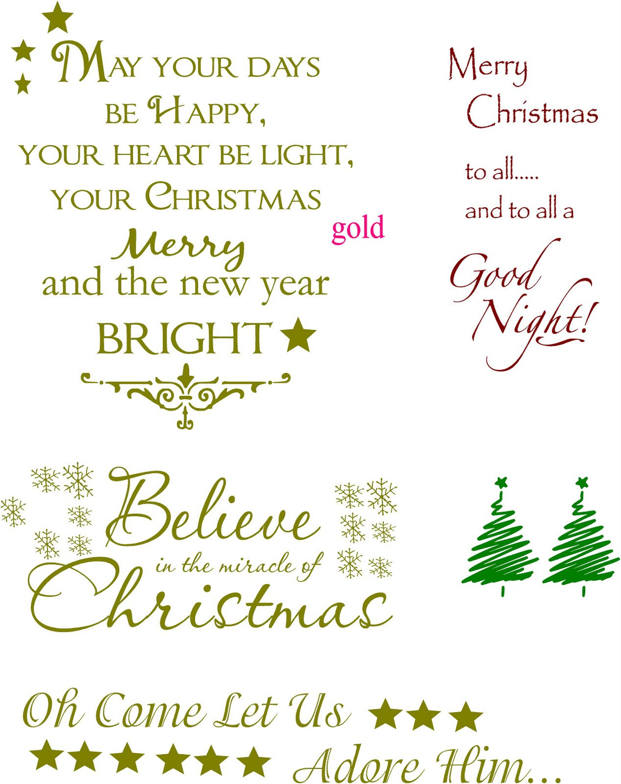 Christmas Quotes For Cards  Vinyl Lettering by Susie Christmas Ideas
