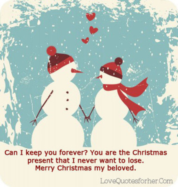 Christmas Quotes For Her  10 Best Love Quotes For Christmas