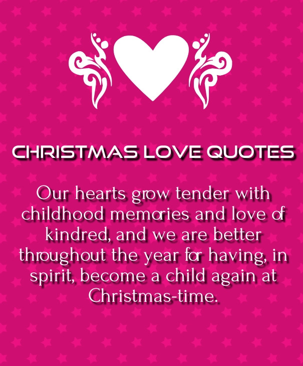 Christmas Quotes For Her  Quotes Love Messages For Her From The Heart quotes love