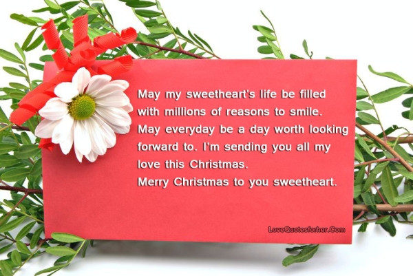Christmas Quotes For Her  Merry christmas love quotes for her and him