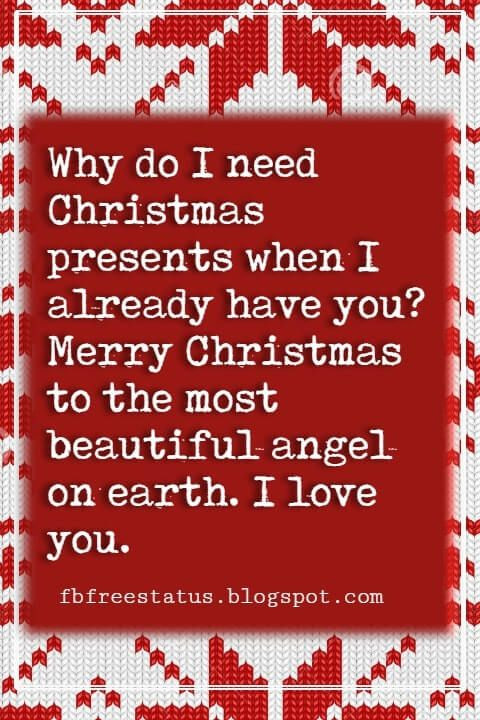 Christmas Quotes For Her  Christmas Love Quotes & Messages for Her & Him to Wish