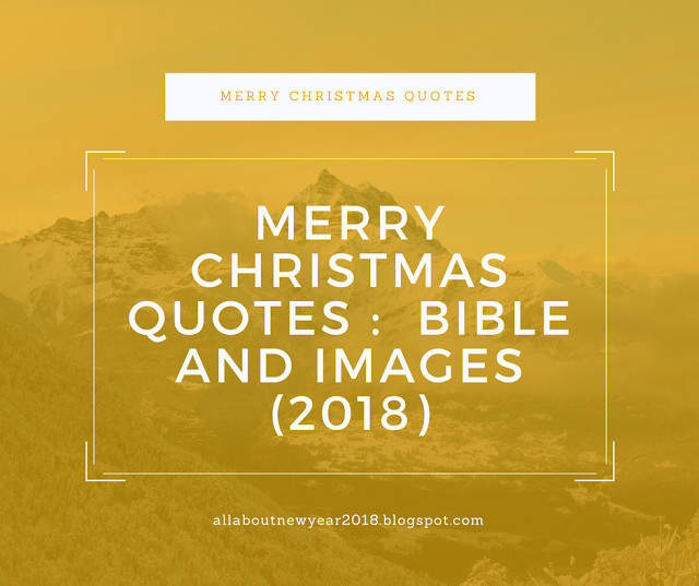 Christmas Quotes For Instagram  Merry Christmas Quotes From Bible and images 2018