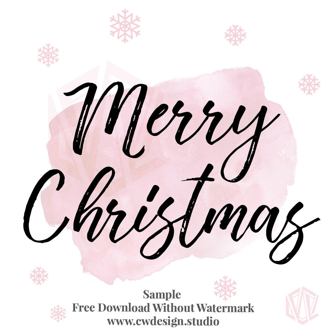 Christmas Quotes For Instagram  Girl Boss Christmas Instagram Hand Lettered Quotes Free