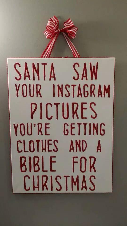 Christmas Quotes For Instagram  Random Santa Saw Your Instagram Pics MajorGeeks