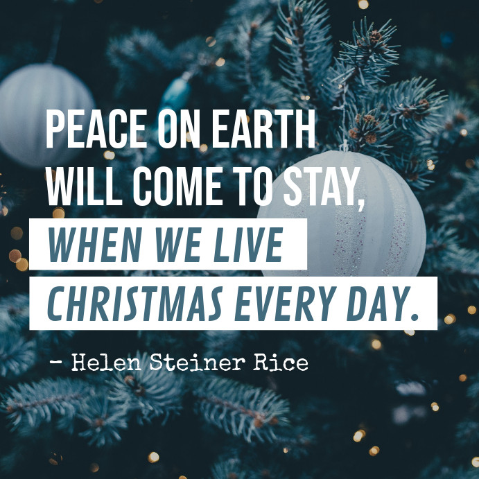 Christmas Quotes For Instagram  Christmas Quote Instagram Post Template