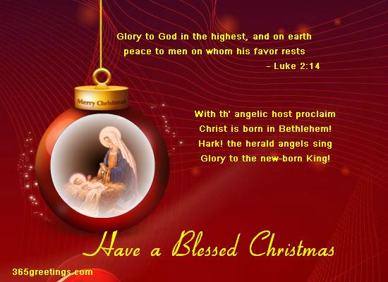 Christmas Quotes Religious  Christian Christmas Card Messages Easyday