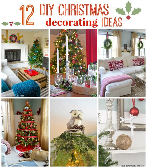 Christmas Rooftop Decorating Ideas  Top 12 DIY Christmas decorating ideas Four Generations