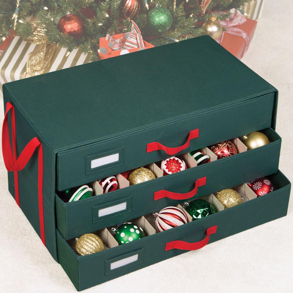 Christmas Storage Bins  Christmas Ornament Storage Ideas