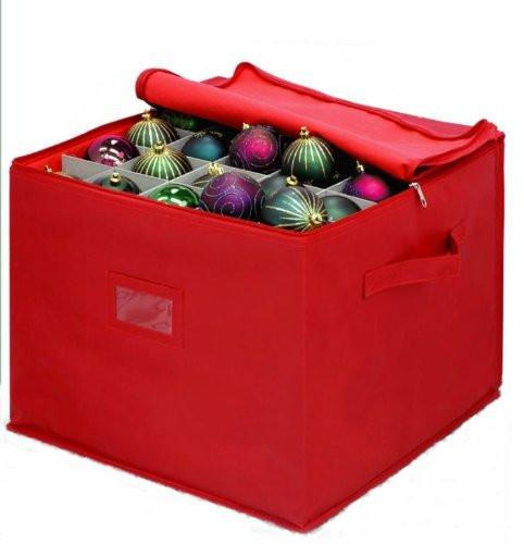 Christmas Storage Bins  Innovative Home Creations Christmas Ornament Storage Box