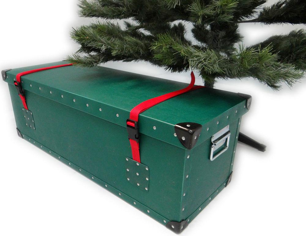 Christmas Storage Bins  Artificial Christmas Tree Luxury Storage Box Container