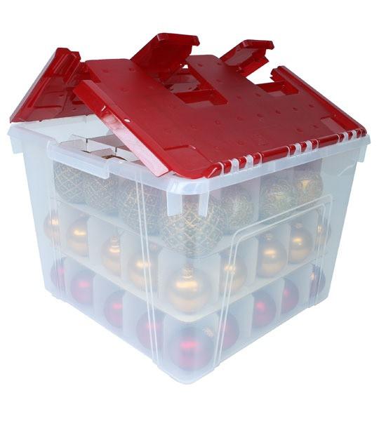 Christmas Storage Bins  Christmas Ornament Storage Container
