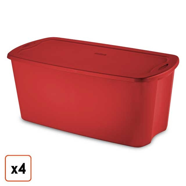Christmas Storage Bins  Christmas Storage Boxes Bins & Containers Holiday Totes