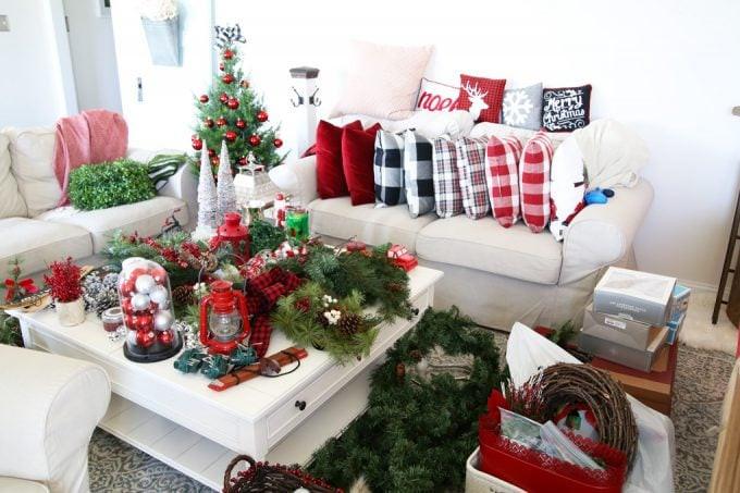 Christmas Storage Bins  How to Organize Storage Bins with FREE Printables