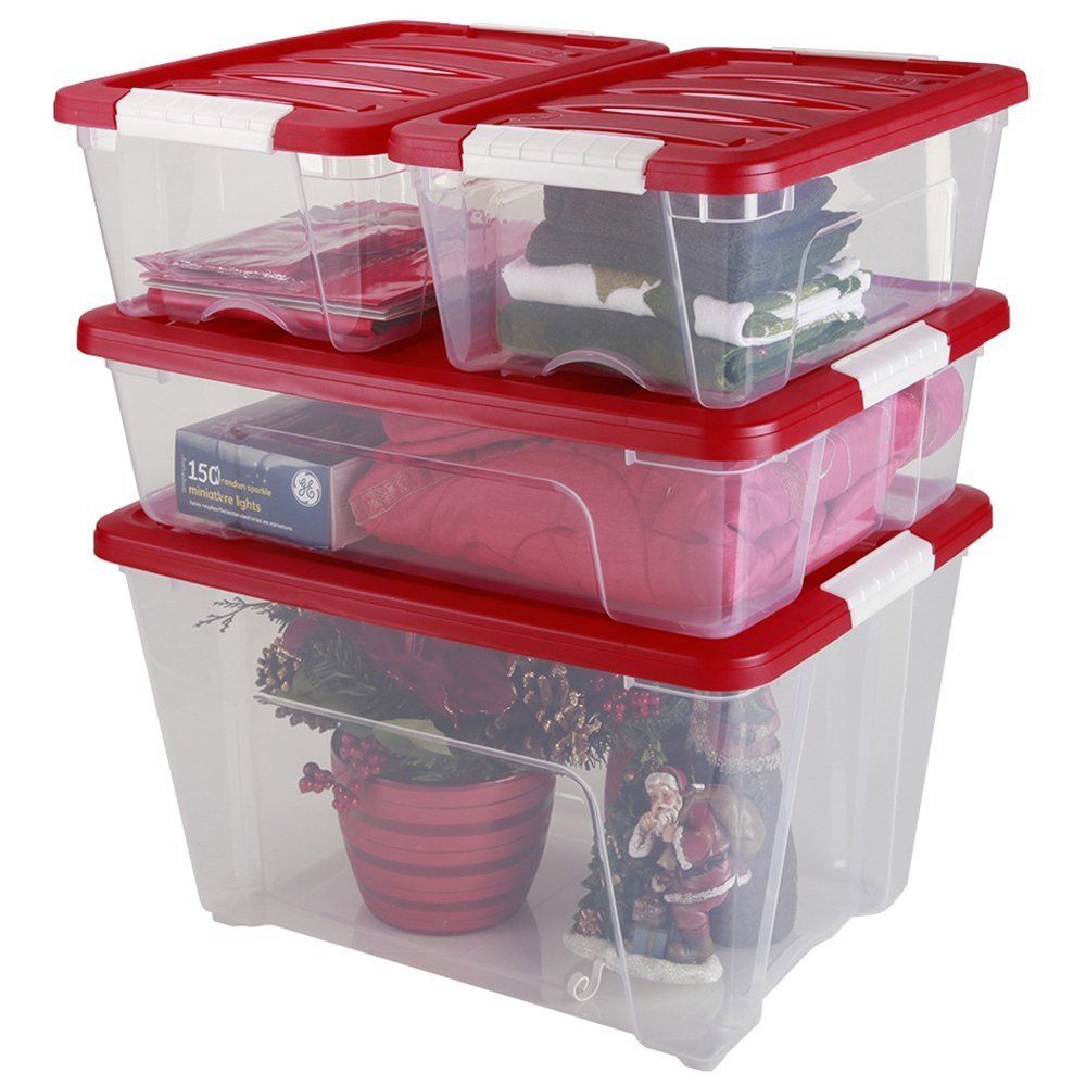 Christmas Storage Bins  Must Have Christmas Storage and Organization Ideas The