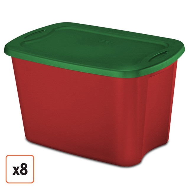 Christmas Storage Bins  This item is no longer available