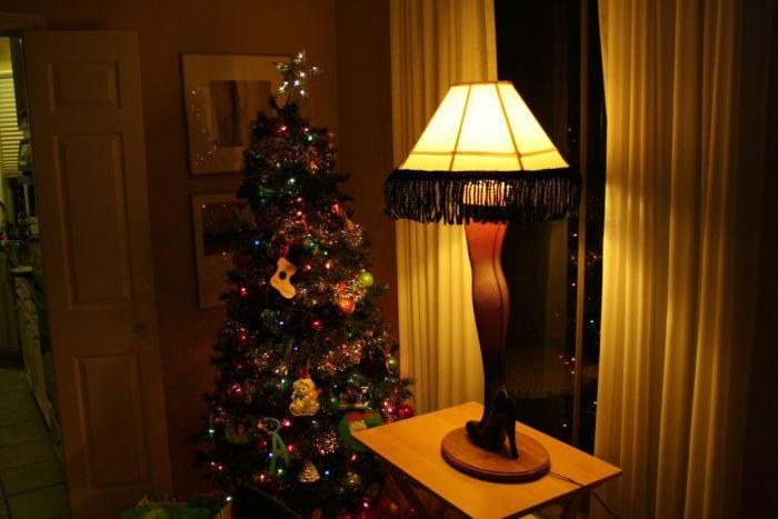 Christmas Story Desktop Leg Lamp  DIY Christmas Story Leg Lamp 42 pics