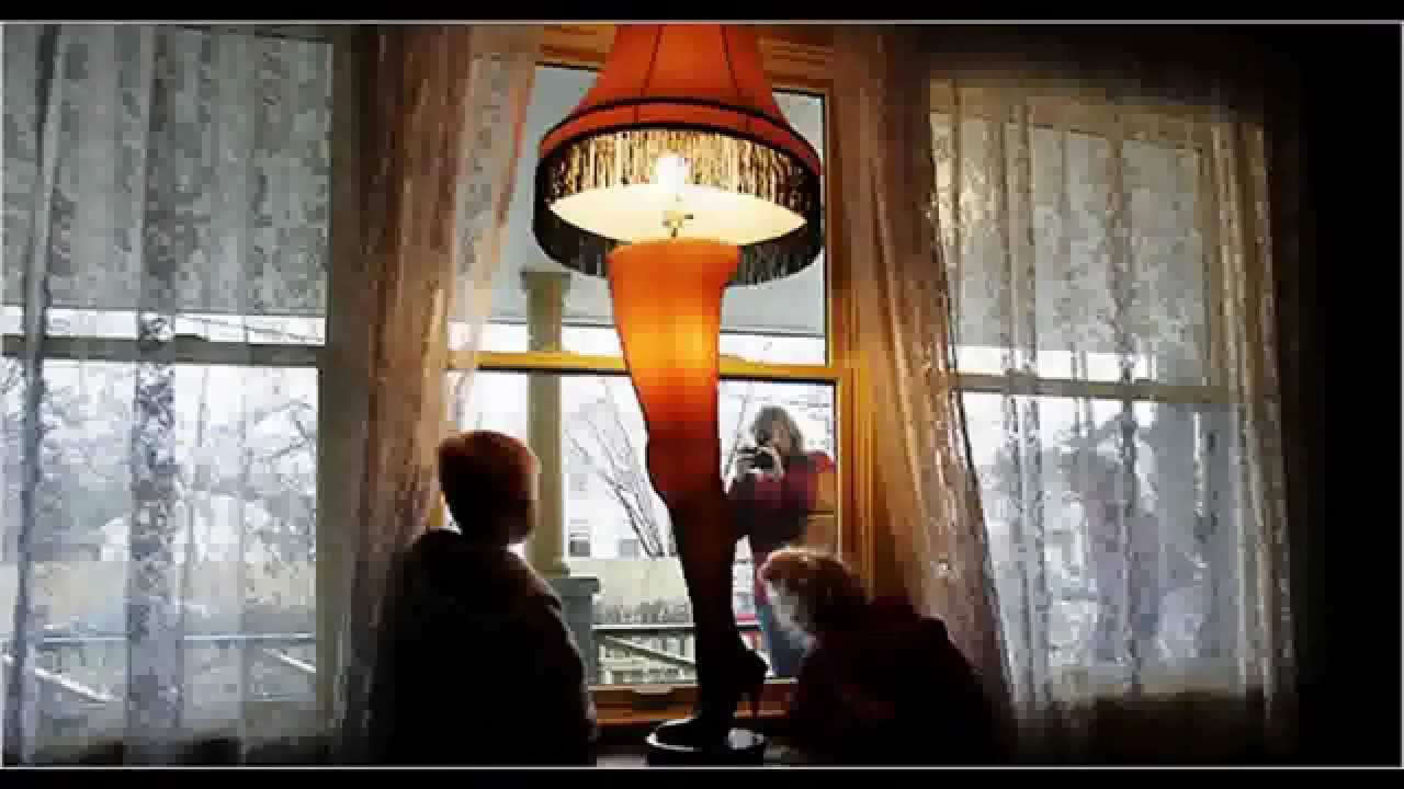 Christmas Story Desktop Leg Lamp  A Christmas Story Full Size 45 Leg Lamp controlled by one