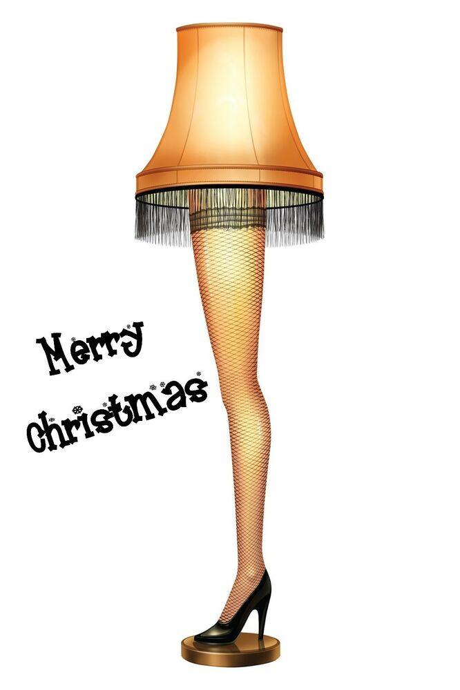 Christmas Story Desktop Leg Lamp  A CHRISTMAS STORY LEG LAMP POSTER 24 X 36 INCH