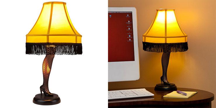 Christmas Story Desktop Leg Lamp  A Christmas Story Desktop Leg Lamp