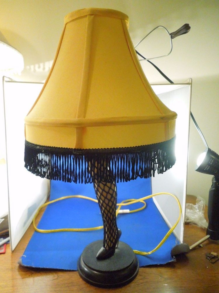 Christmas Story Desktop Leg Lamp  A Christmas Story Electric Leg Lamp Smaller 20 Inch Table