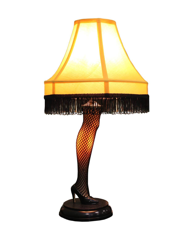 Christmas Story Desktop Leg Lamp  Christmas Story Lamp – Desk Leg – Melo s furniture