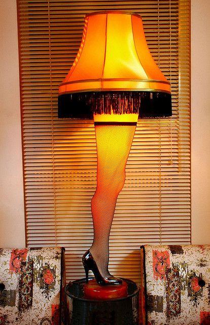 "Christmas Story Desktop Leg Lamp  Leg Lamp ""A Christmas Story """