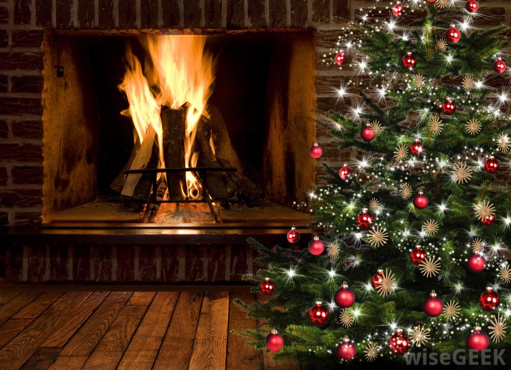 Christmas Tree By Fireplace  Where Should I Put my Christmas Tree with pictures