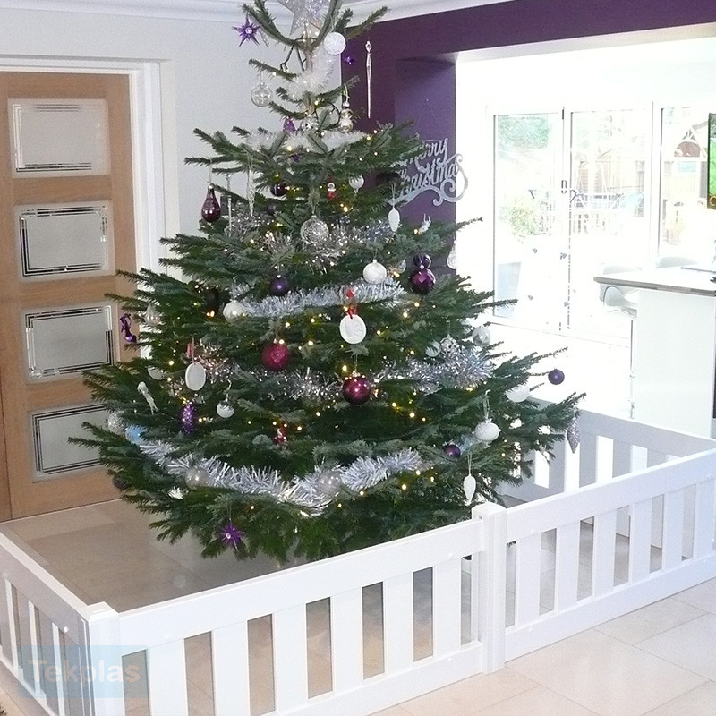 Christmas Tree Fence Indoors  Christmas Tree Fencing Guard Fencing