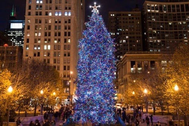 Christmas Tree Lighting Chicago 2019  When Is The Chicago Christmas Tree Lighting Time Set For