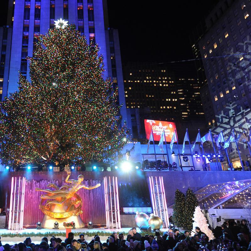 Christmas Tree Lighting Chicago 2019  Rockefeller Center
