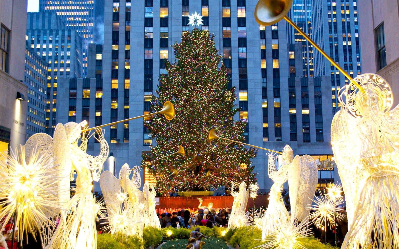 Christmas Tree Lighting Chicago 2019  Rockefeller Center Announces Date of Christmas Tree