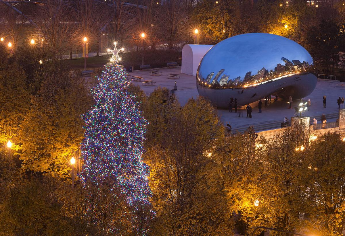 Christmas Tree Lighting Chicago 2019  City to begin holiday season with tree lighting ceremony