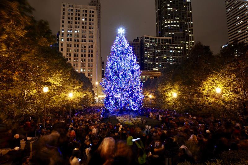 Christmas Tree Lighting Chicago 2019  City of Chicago City of Chicago Christmas Tree