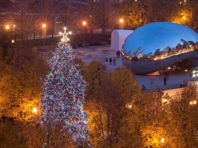 Christmas Tree Lighting Chicago 2019  Chicago Christmas Tree Lighting Ceremony When to See It