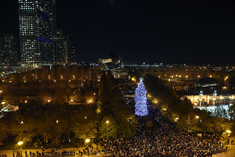 Christmas Tree Lighting Chicago 2019  City of Chicago Chicago's 103rd Christmas Tree Lighting