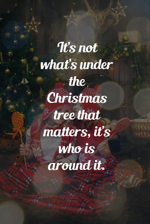 Christmas Trees Quotes  Top Inspirational Christmas Quotes with Beautiful